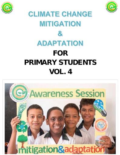 Adaptation and Mitigation Vol 4