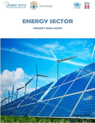 Project Idea Notes Mitigation Energy Sector, Guyana