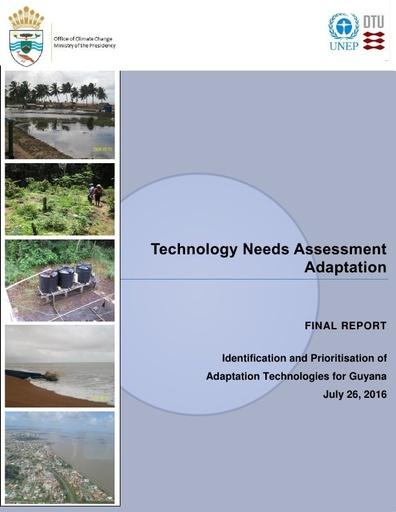 Technology Needs Assessment (TNA) Adaptation Report Final Draft