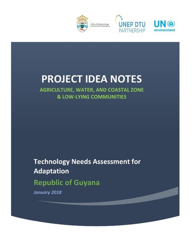 Project Idea Notes for Adaptation Guyana