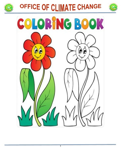 Climate Change Colouring Book