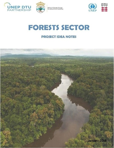 Project Idea Notes Mitigation Forests Sector, Guyana