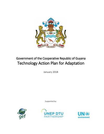 Technology Action Plan- Adaptation