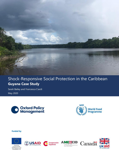 Shock-Responsive Social Protection in the Caribbean Guyana Case Study