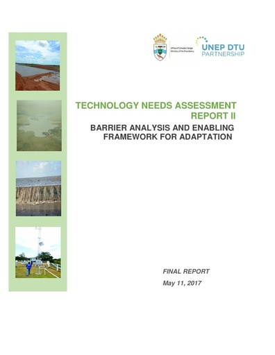 Barrier Analysis and Enabling Framework - Adaptation