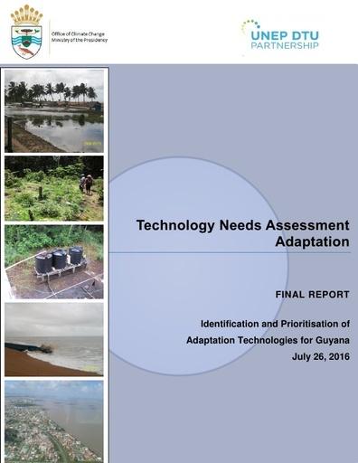 Technology Needs Assessment- Adaptation